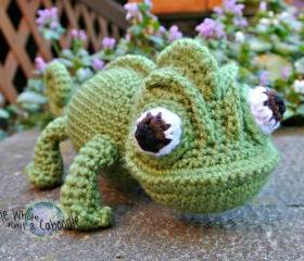 Pascal the Chameleon PDF Pattern