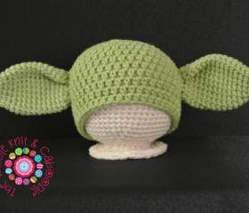 Yoda Hat (All Sizes) PDF Pattern
